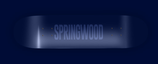 Springwood Navy Seals Skateboard Deck 7.75