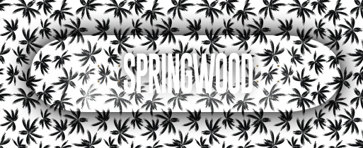 Springwood Green Leafs Skateboard Deck 8.1