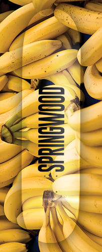 Springwood Banana Skateboard Deck 8.0